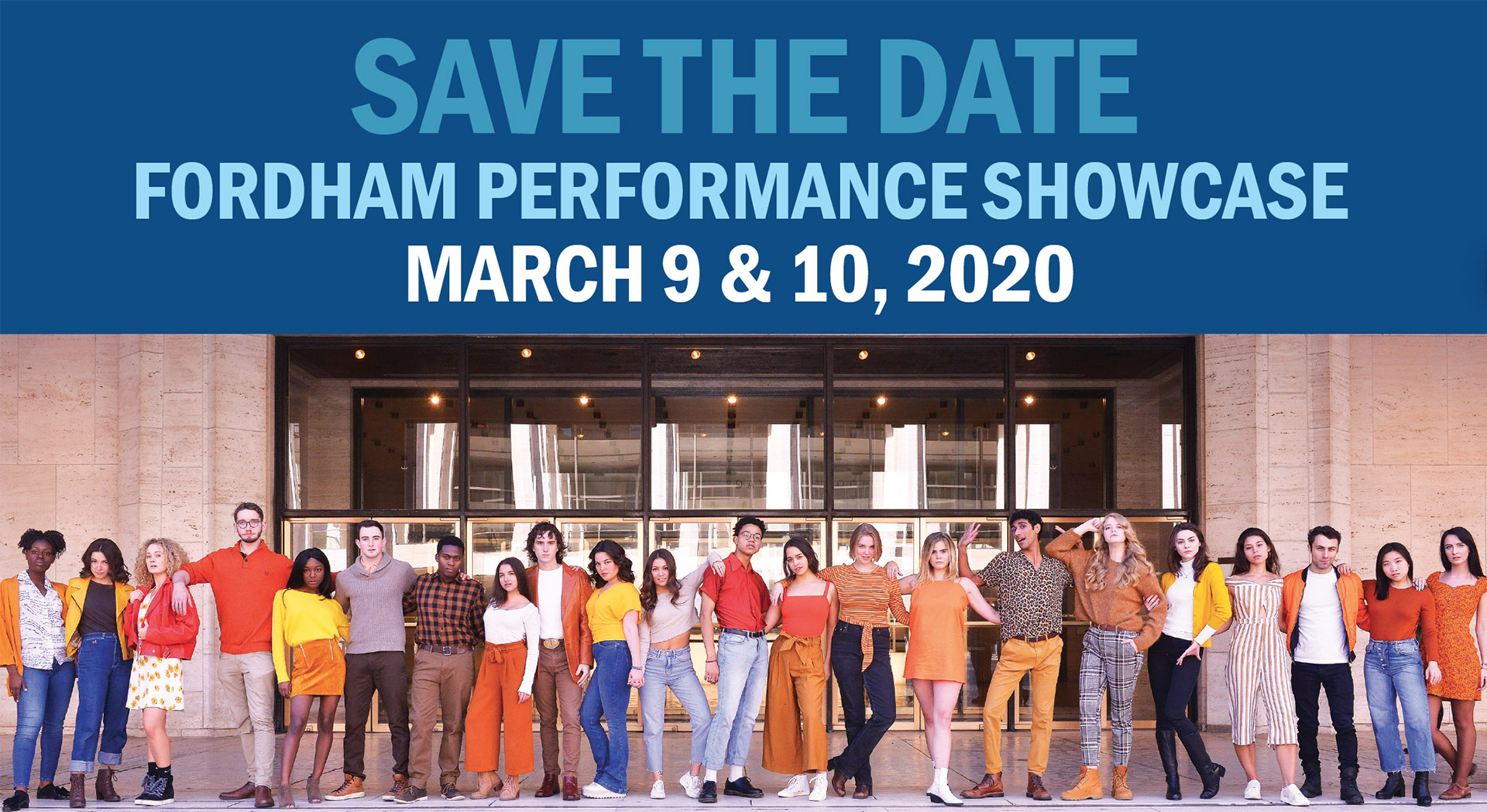 Save the Date: March 9 & 10, 2020