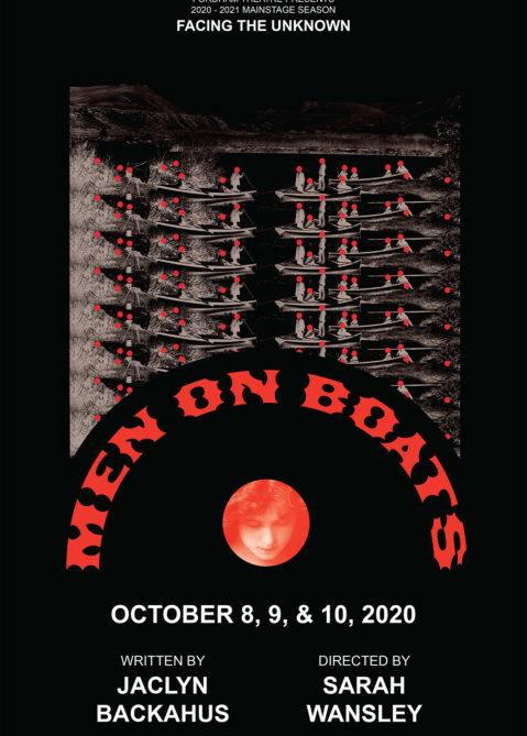 Men on Boats Poster